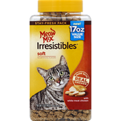 Meow Mix Treats for Cats, with White Meat Chicken, Soft, Value Size