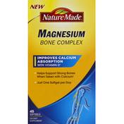 Nature Made Magnesium Bone Complex Softgels