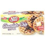 Shurfine Chocolate Chip Waffles