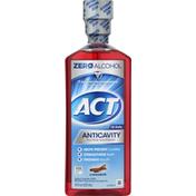ACT Mouthwash, Fluoride, Cinnamon, Anticavity, Zero Alcohol