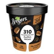 Breyers Reduced Fat Ice Cream Butter Pecan