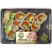 SB Vegetarian Roll, Brown Rice