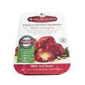 Mama Mancini's Chicken Stuffed Meatballs Chicken Parmigiana