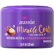 Aussie Miracle Coils Leave-In Stretching Balm With Cocoa Butter