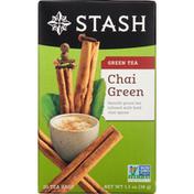 Stash Tea Green Tea, Chai Green, Tea Bags