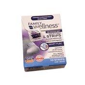 Family Wellness Clear Medium Nasal Strips