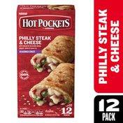 Hot Pockets Philly Steak & Cheese Seasoned Crust Frozen Snacks