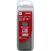 Senco Wire Staples, Galvanized, 18 GA, Medium