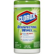 Clorox Disinfecting Wipes, Serene Clean, 75 Count