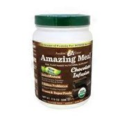 Amazing Grass Amazing Meal Added Protein Quinoa, Pumpkin Seed, Brown Rice & Hemp, 5 Billion Probiotics To Support Healthy Digestion, Greens & Superfoods Raw, Plant-based Nutritional Supplement Powder, Chocolate Infusion
