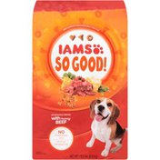 IAMS So Good! Wholesome Blends With Hearty Beef Adult Dog Food