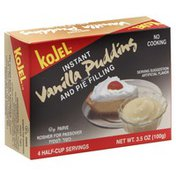 Kojel Pudding and Pie Filling, Vanilla Flavor, Instant