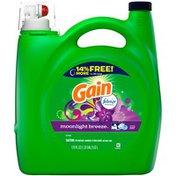Gain with Febreze Moonlight Breeze 110 Loads Liquid Laundry Detergent