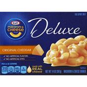 Kraft Macaroni & Cheese Dinner, Original Cheddar, Deluxe