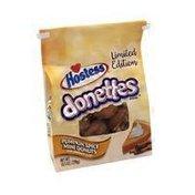 Hostess Mini Donettes Pumpkin Spice With Cinnamon Glaze Donuts