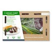 Home Chef Shiitake Sirloin Steak And Hollandaise