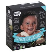 Nosh Teething Wafers, Organic, Baby Munchables, Simply Rice