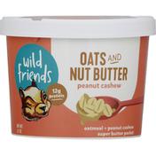 Wild Friends Nut Butter Oats + Peanut Cashew Super Butter