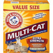 Arm & Hammer Multi-Cat Extra Strength Clumping Fresh Scent Cat Litter