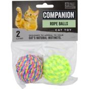 Companion Cat Toy Rope Balls