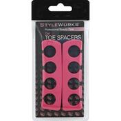 StyleWurks Toe Spacers, Gel