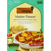 Kitchens of India Green Peas & Cottage Cheese Curry, Mutter Paneer, Mild