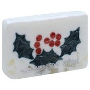Primal Elements Soap, Handmade, Holly Berry