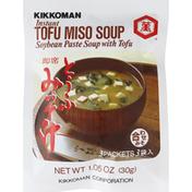 Kikkoman Instant Soup, Soybean Paste with Tofu, Tofu Miso