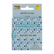 Post-it Notes To-Go - 100 CT