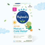 Hyland's Baby Mucus + Cold Relief, Natural Relief of Congestion, Runny Nose & Cough