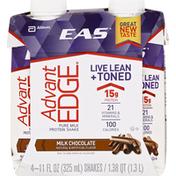 EAS Protein Shake, Pure Milk, Milk Chocolate