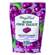 MegaFood Kids One Daily Multivitamin Soft Chews - Grape Flavor