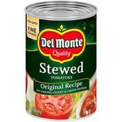Del Monte Original Recipe Stewed Tomatoes with Onions, Celery & Green Peppers