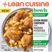 Lean Cuisine Bowls Oven Fried Chicken with Mashed Potatoes Frozen Meal