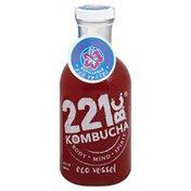 Kombucha 221 Bc Kombucha, Organic, Berry Hibiscus, Refillable