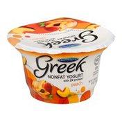 Norman's Nonfat Greek Yogurt Peach