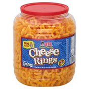 Utz Cheese Rings, Baked Cheddar