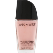 wet n wild Nail Color, Tickled Pink 455B