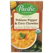 Pacific Organic Poblano Pepper & Corn Chowder
