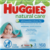 Huggies Refreshing Baby Wipes, Scented