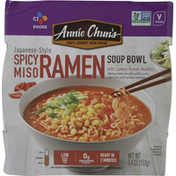 Annie Chuns Soup Bowl, Spicy Miso Ramen, Japanese-Style