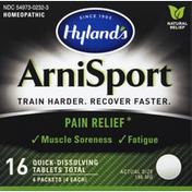 Hyland's ArniSport, 196 mg, Quick-Dissolving Tablets