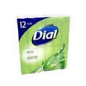 Dial Antibacterial Deodorant Soap, Icy Aloe