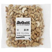 Valued Naturals Cashews, Fire Roasted, with Sea Salt