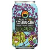 Aqua ViTea Elderberry, Probiotic, Kombucha