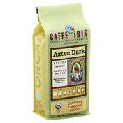 Caffe Ibis Coffee Roasting Coffee, Certified Organic, Dark Roast, Aztec Dark