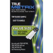 True Metrix Blood Glucose Test Strips, Self Monitoring, Value Size