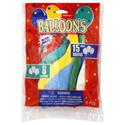 Amscan Balloons, 15 Inch, Helium Quality, Round