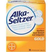 Alka-Seltzer Antacid, Gold, Tablets