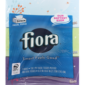 Fiora Facial Tissue, 2-Ply, 3 Pack